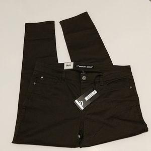 Jordache skinny jeans size 16 BLK olive color